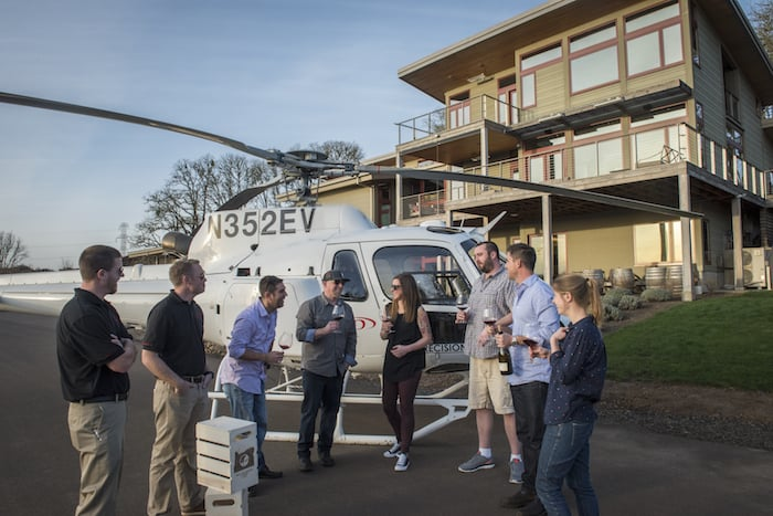 Oregon Wine Country Helicopter Tours | Winetraveler.com