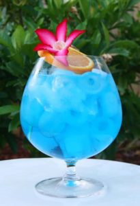 Blue Ocean Tropical Drink Recipe | Easy to make tropical drink recipes | Winetraveler.com