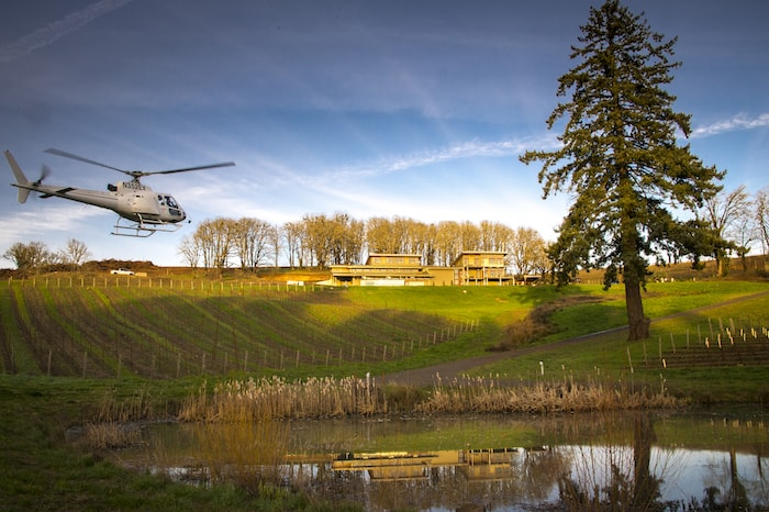 Tour deVine Helicopter Tours in Oregon's Willamette Valley
