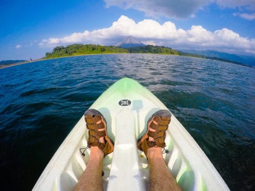 Kayaking Lake Arenal in Costa Rica | 7 Day Costa Rica Itinerary