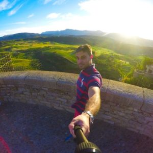 The view from the Ronda Plateau in Andalucia | Winetraveler.com