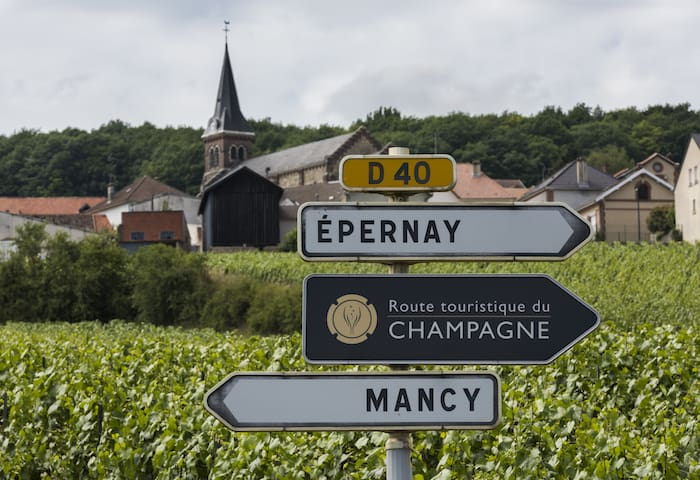 Route For Visiting Champagne France | What To See in Champagne | Epernay and Riems | Winetraveler.com