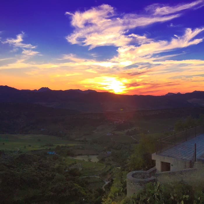 Reasons to Visit Andalucia Spain | The View from Ronda of the Countryside | Winetraveler.com