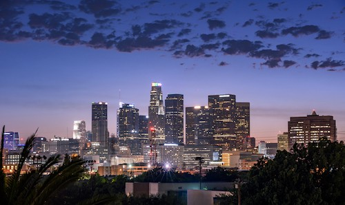 Downtown LA City-scape | 2-3 Day Itinerary For the Best Things to Do in Los Angeles, California | Winetraveler.com