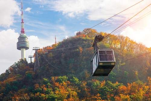 Things To Do in Namsan Park, Mt Namsan Cable Car and Seoul Tower