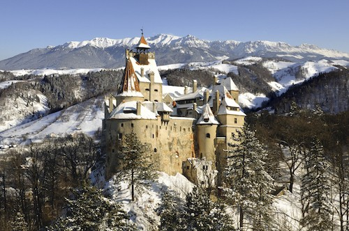 Bran Castle, Romania (Dracula's Castle Near Transylvania and Wallachia) | Winetraveler.com
