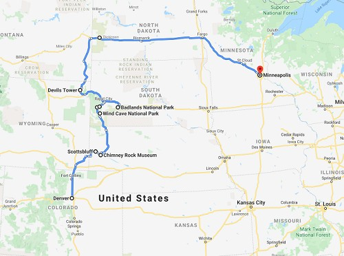 Midwest Road Trip Itinerary and Travel Guide