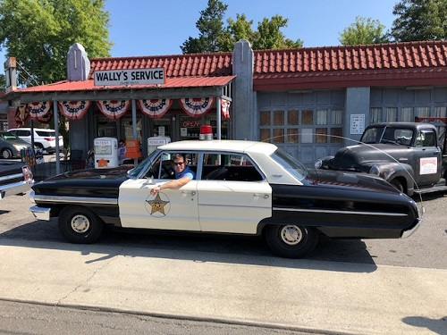 mayberry squad car tours things to do in north carolina mount airy